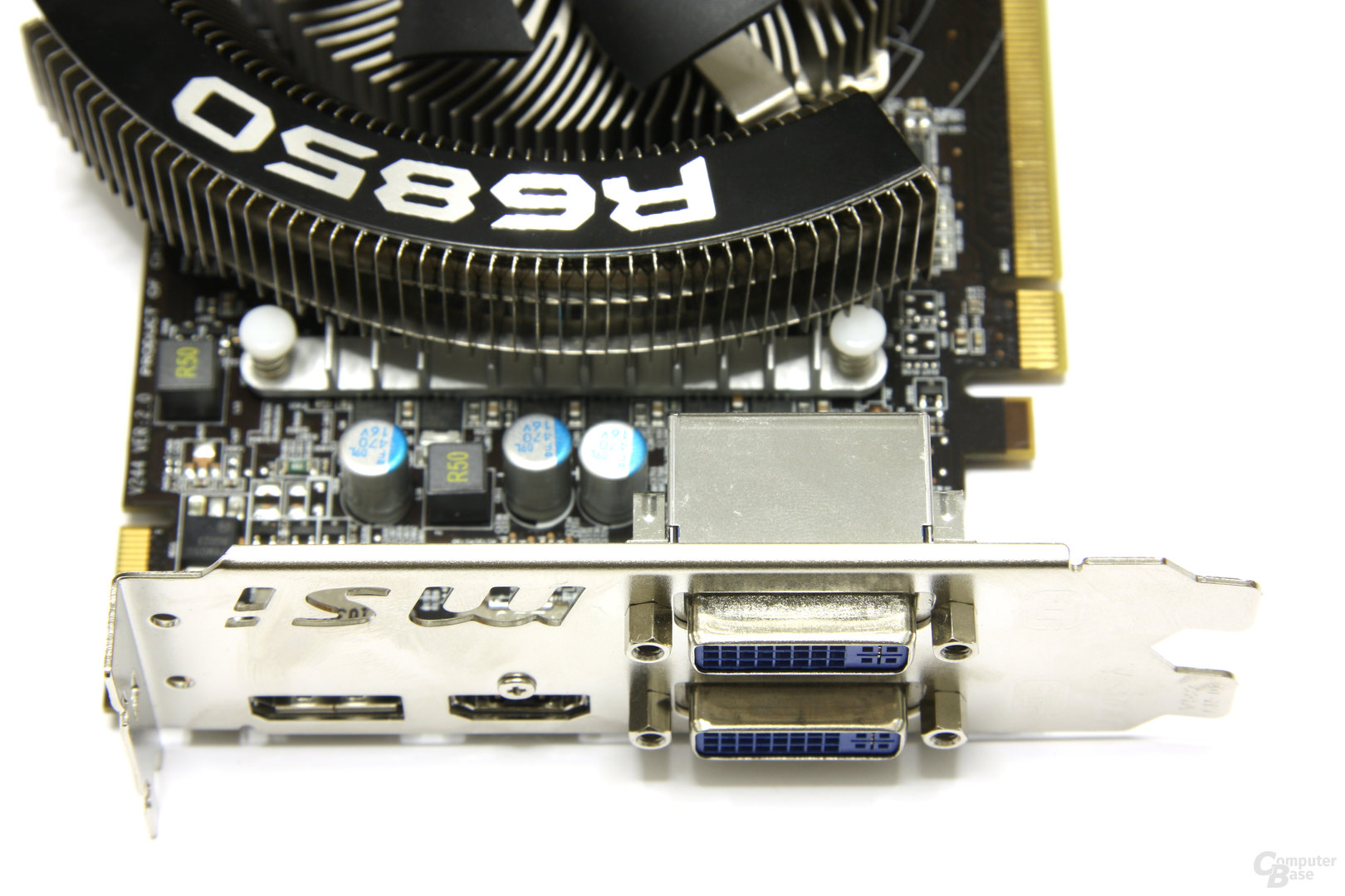 Radeon HD 6850 Power Edition OC Anschlüsse