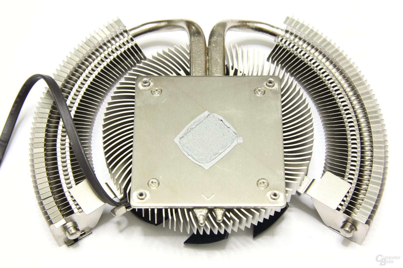 Radeon HD 6850 Power Edition OC Kühlerrückseite