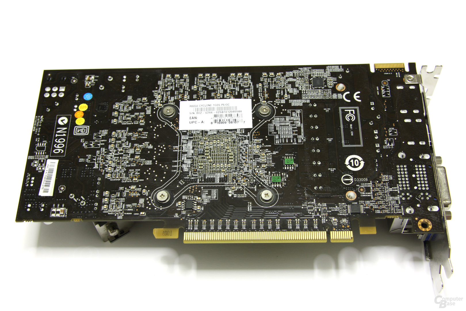 Radeon HD 6850 Power Edition OC Rückseite
