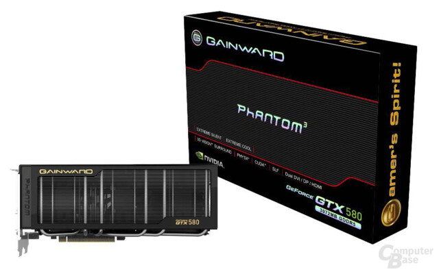 "Gainward GeForce GTX 580 3072MB ""Phantom"""