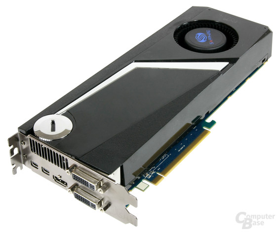 Sapphire Radeon HD 6970 im Custom-Design