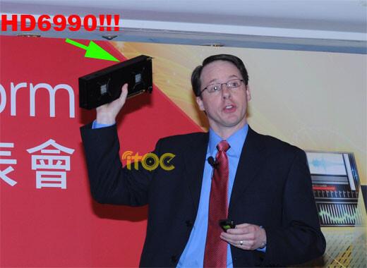 AMD zeigt Radeon HD 6990