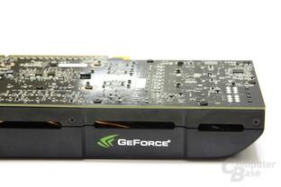 GeForce GTX 560 Ti Schriftzug