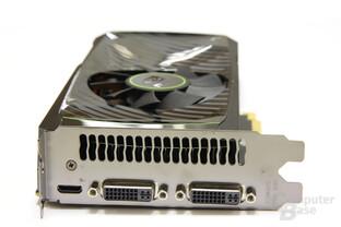 GeForce GTX 560 Ti Slotblech