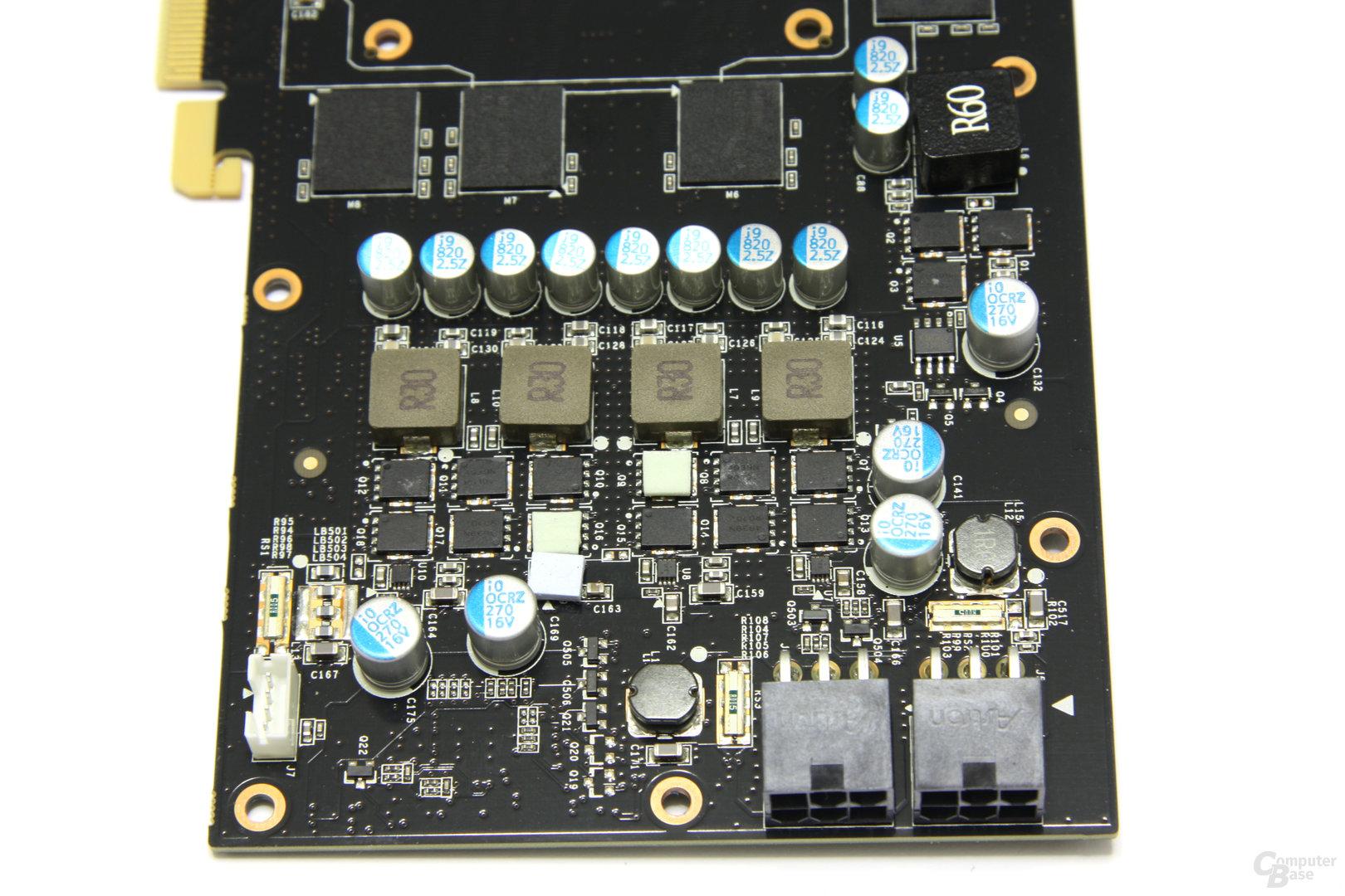 GeForce GTX 560 Ti Stromversorgung