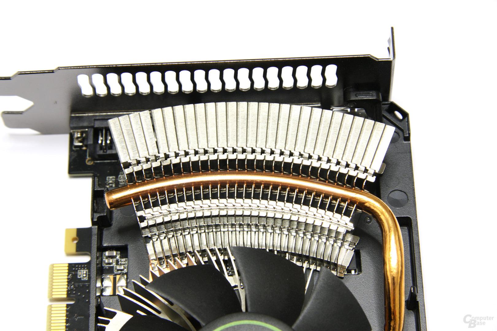 GeForce GTX 560 Ti Alu-Lamellen
