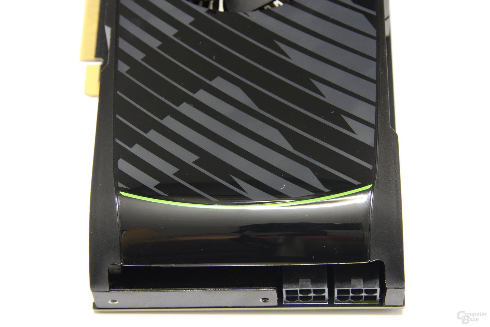 GeForce GTX 560 Ti von oben