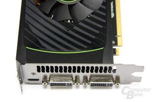 GeForce GTX 560 Ti Anschlüsse