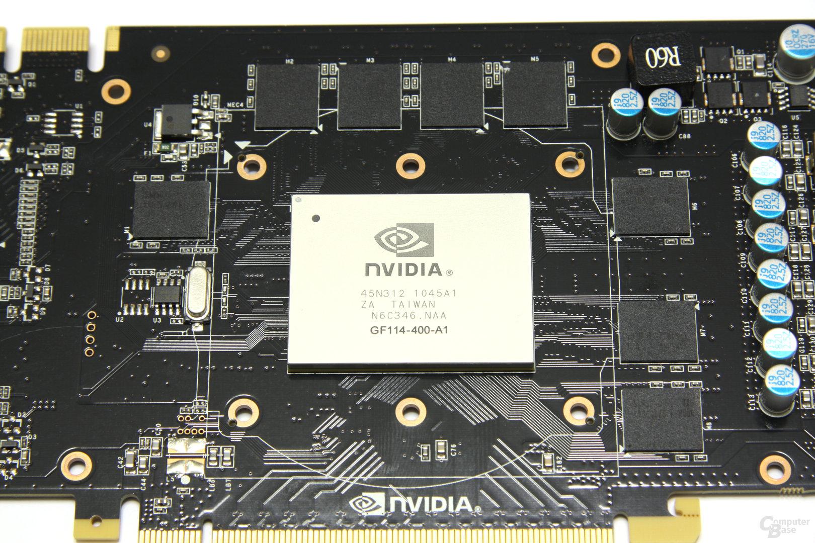 GeForce GTX 560 Ti GPU und Speicher