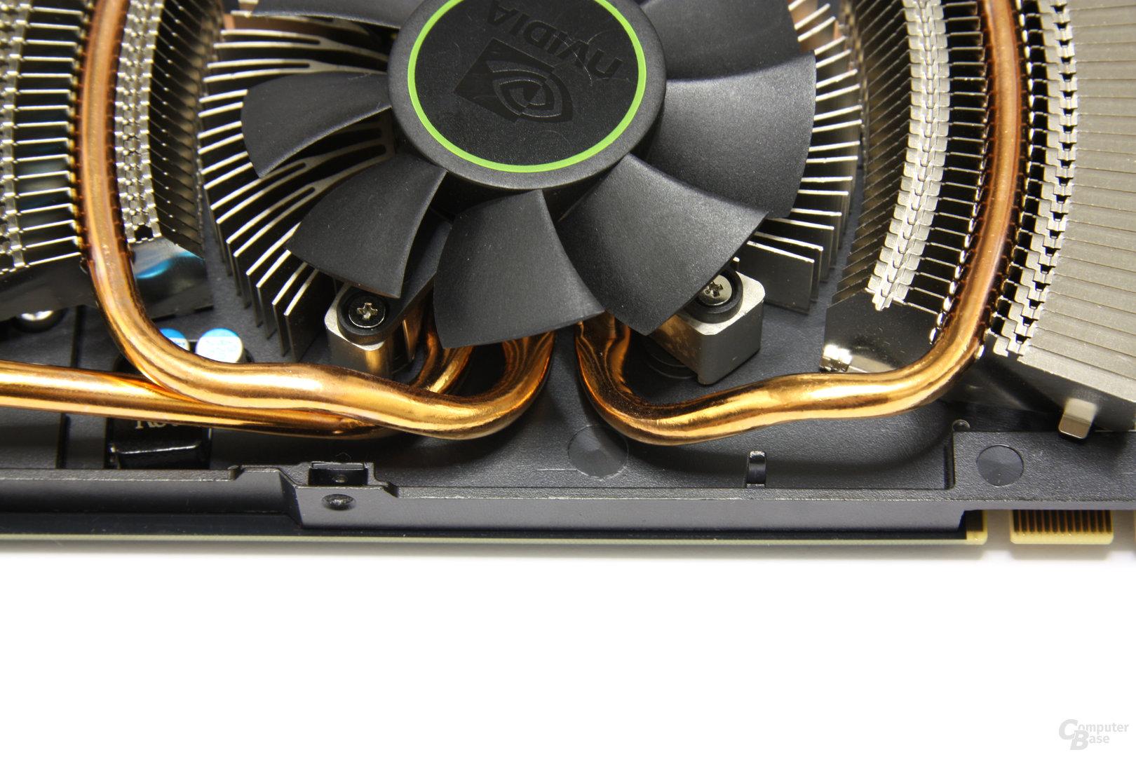 GeForce GTX 560 Ti Heatpipes