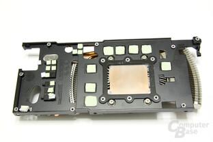 GeForce GTX 560 Ti Kühlerrückseite