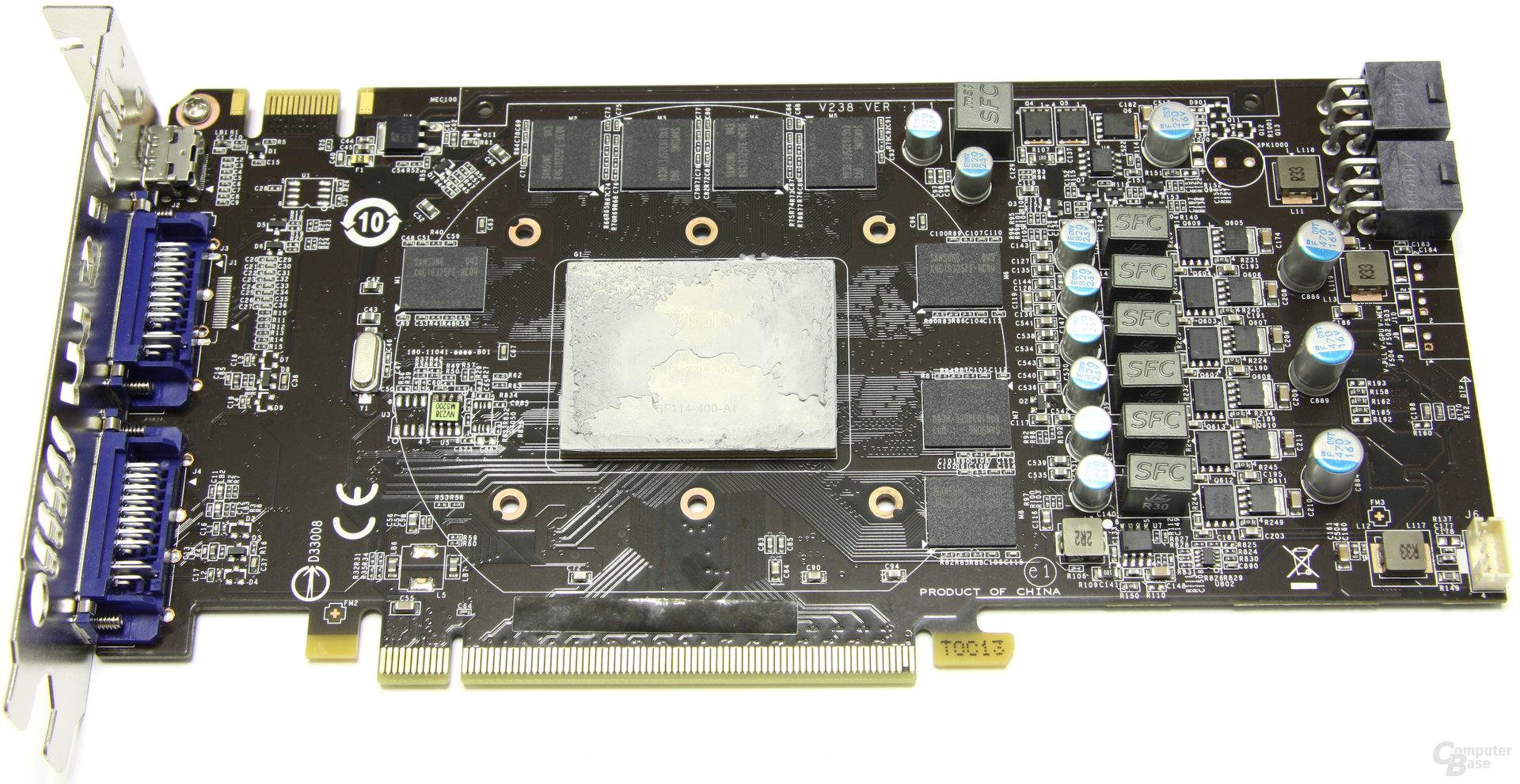 GeForce GTX 560 Ti TFII OC ohne Kühler