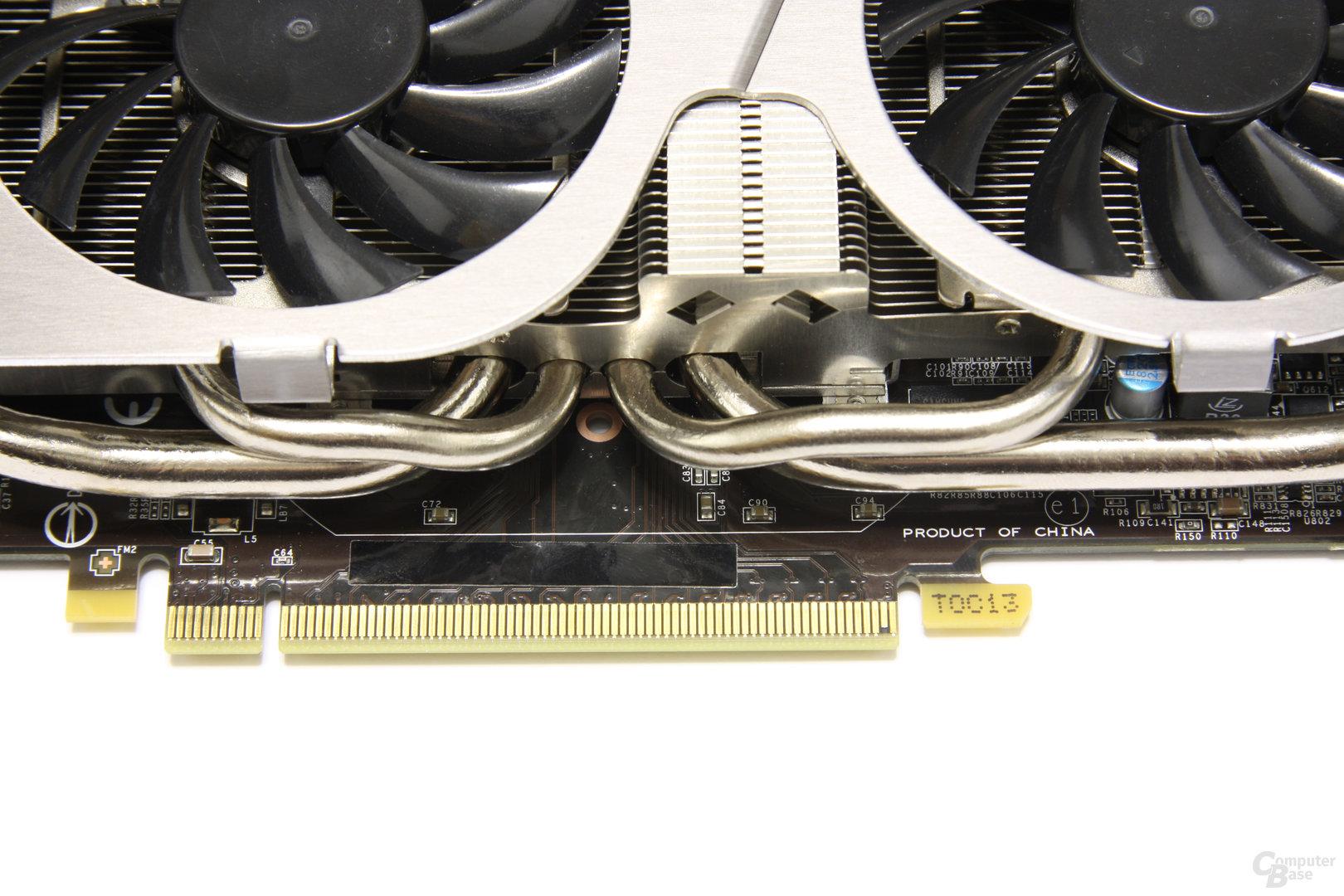 GeForce GTX 560 Ti TFII OC Heatpipes