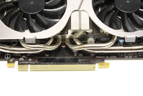 GeForce GTX 560 Ti TFII OC Heatpipes