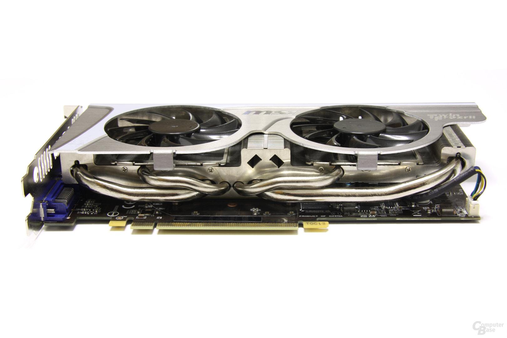 GeForce GTX 560 Ti TFII OC Seitenansicht