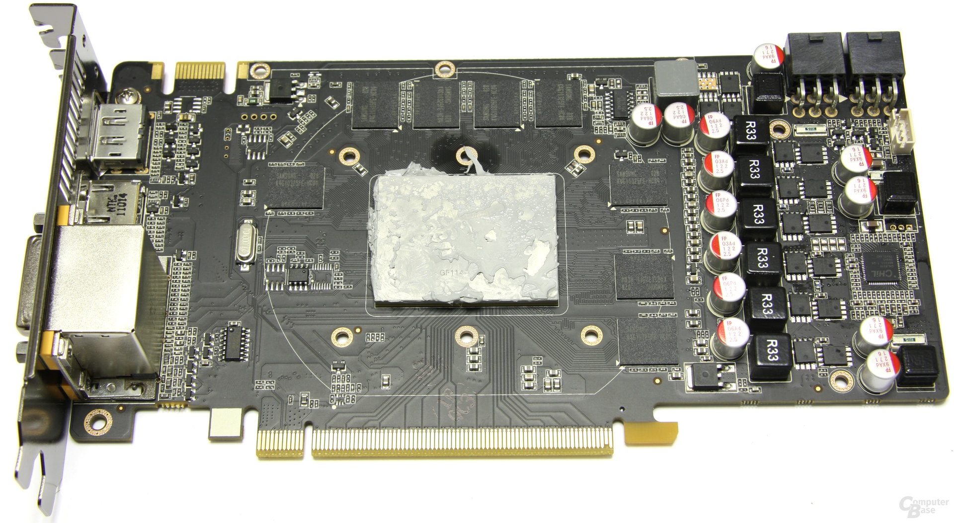 GeForce GTX 560 Ti ohne Kühler