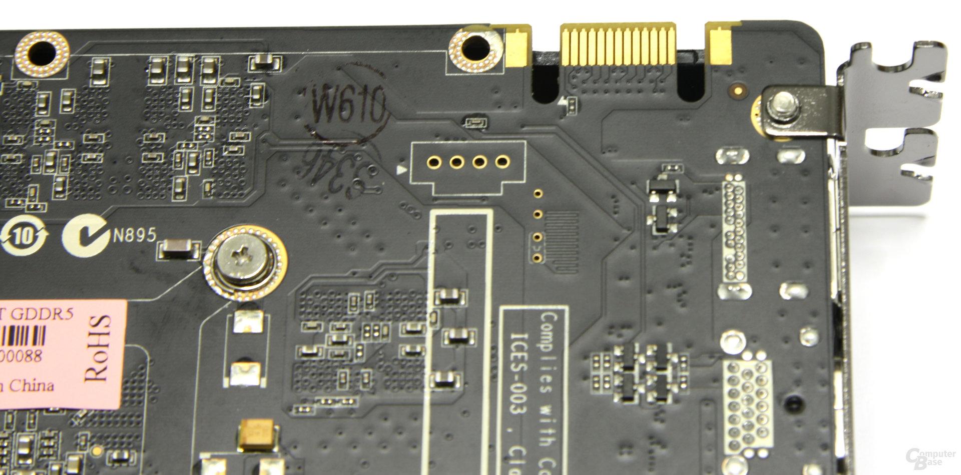 GeForce GTX 560 Ti SLI-Anschluss