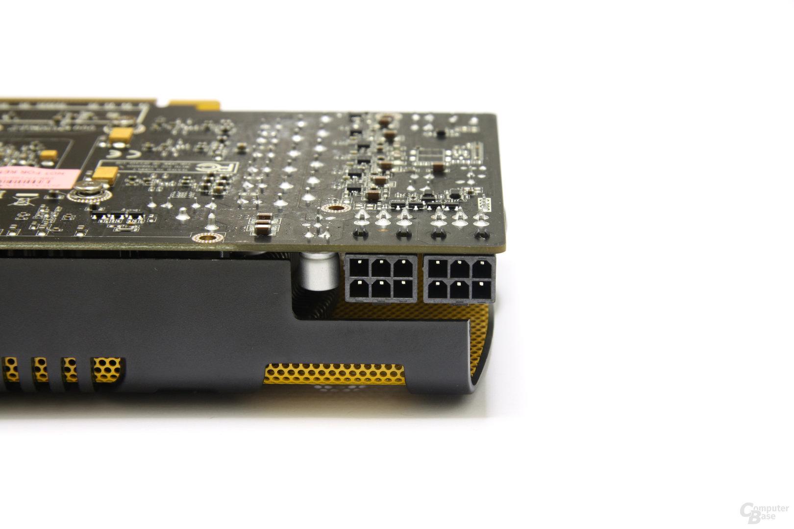 GeForce GTX 560 Ti Stromanschlüsse