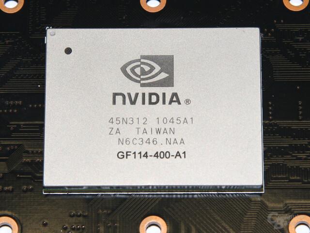 Nvidias GF114-Grafikchip