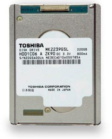 Toshiba MK2239GSL | Quelle: Toshiba