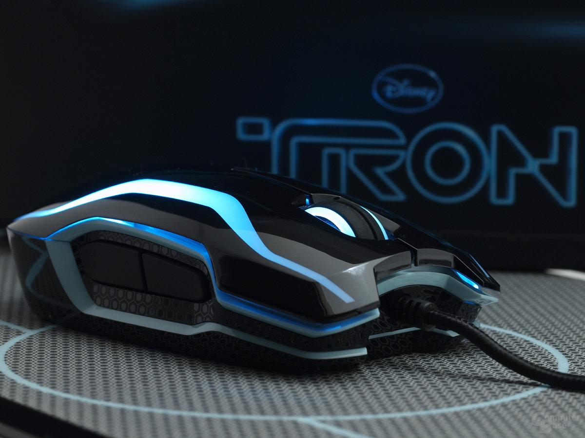 Razer Tron Maus und Mat