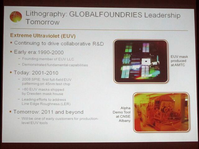 Globalfoundries und die EUV-Lithografie