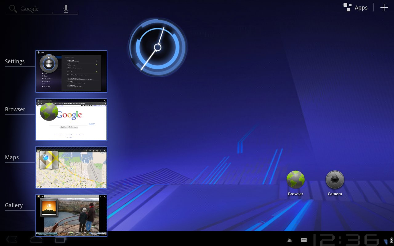 Android 3.0: Task-Manager