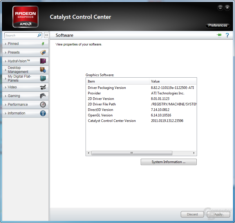 AMD Catalyst 11.1a Hot-Fix