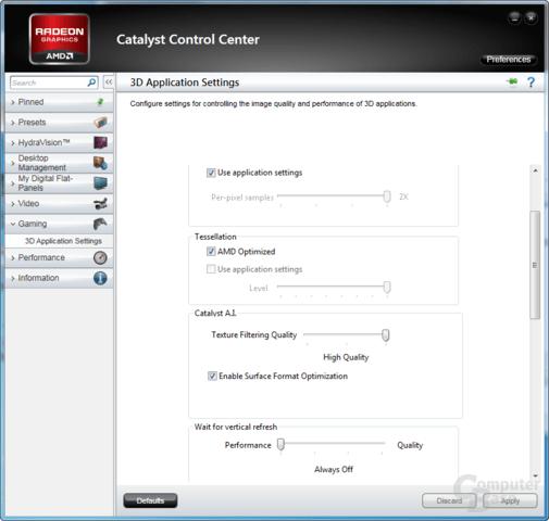 AMD Catalyst 11.1a Hot-Fix
