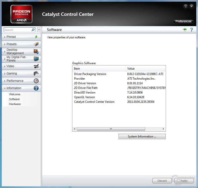 AMD Catalyst 11.1