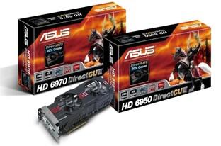 Asus HD 6950 und HD 6970 DirectCU II