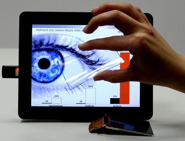Kohlenstoff-Touchscreen