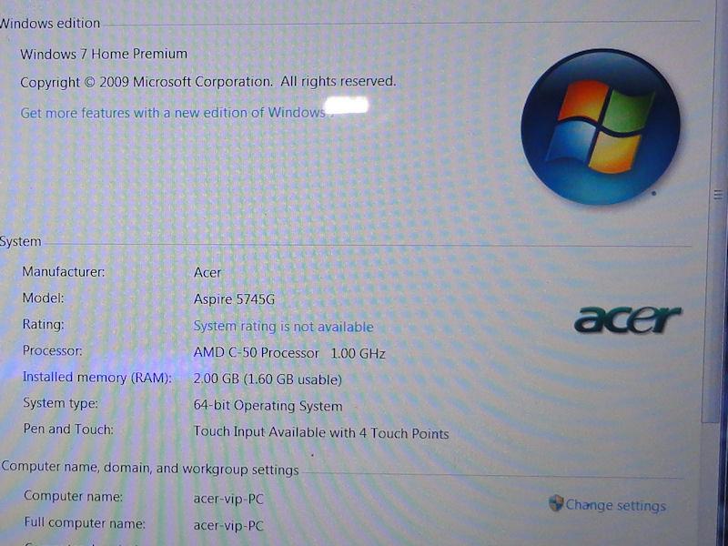 Prototyp eines Acer-Tablets mit AMDs 5-Watt-Chip (C-50)