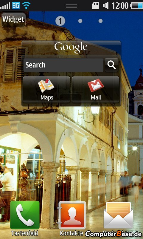 TouchWiz 3.0 auf Bada: Auf der Oberfläche nichts Neues