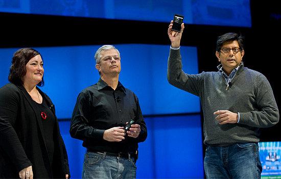 Intel zeigt erstes Medfield-Smartphone
