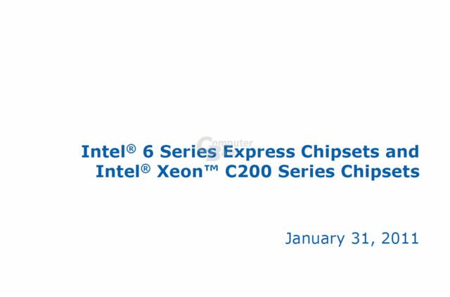 Intel-Dokument zu den Fehlern in den Chipsätzen