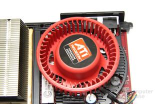 Radeon HD 6950 1GB Lüfter ohne Hülle