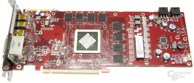 Radeon HD 6950 1GB Lüfter ohne Kühler
