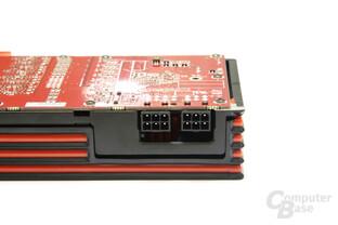 Radeon HD 6950 1GB Stromanschlüsse