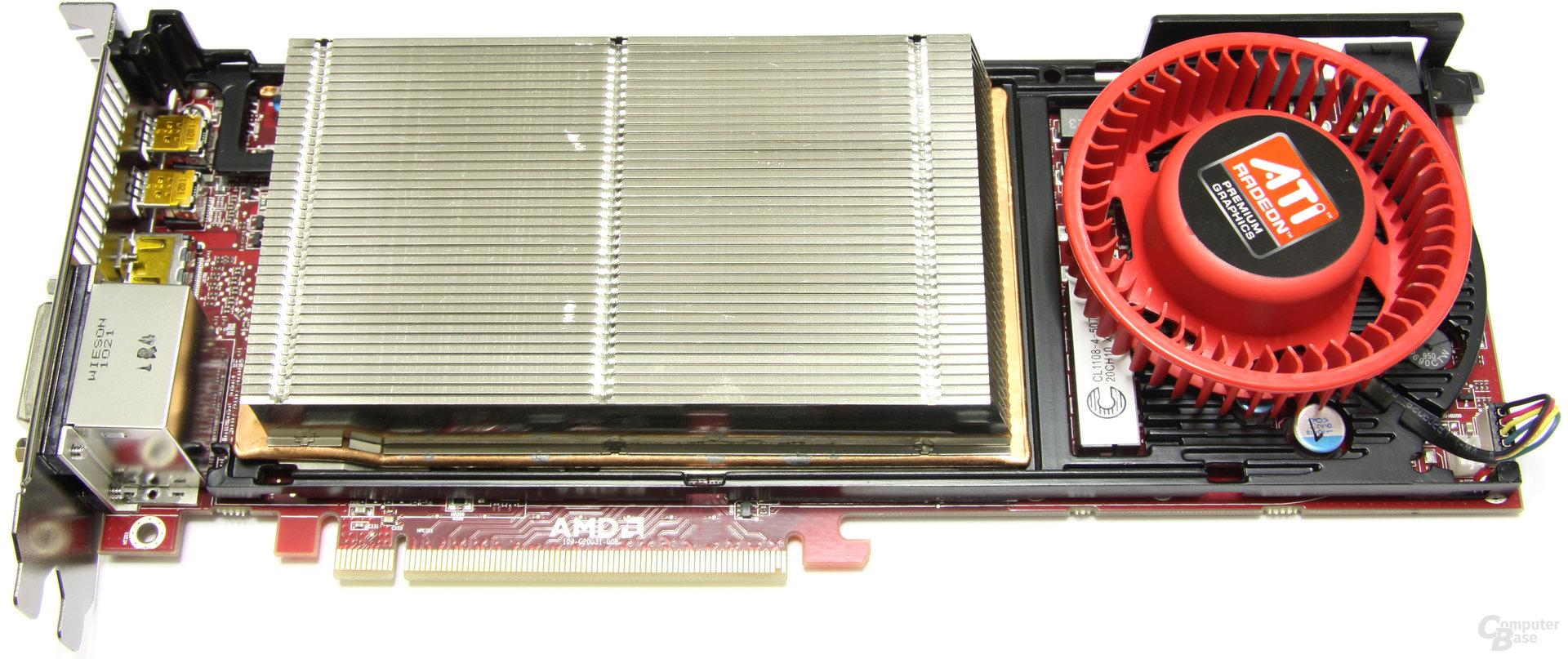 Radeon HD 6950 1GB ohne Haube