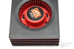 Radeon HD 6950 1GB von oben