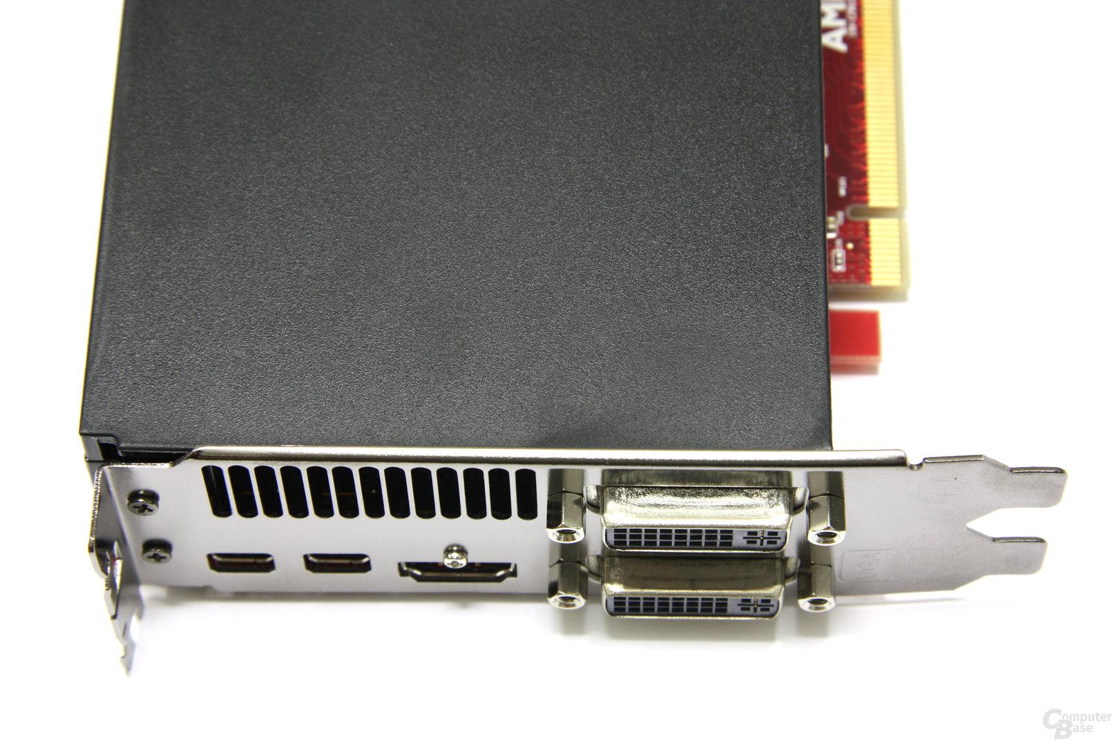 Radeon HD 6950 1GB Anschlüsse