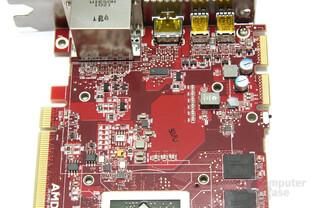 Radeon HD 6950 1GB Bauteile