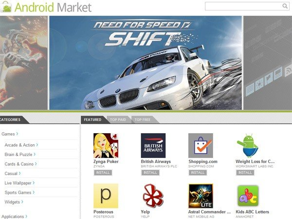 Android Web Market