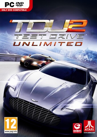 """Test Drive Unlimited 2""-Packshot"