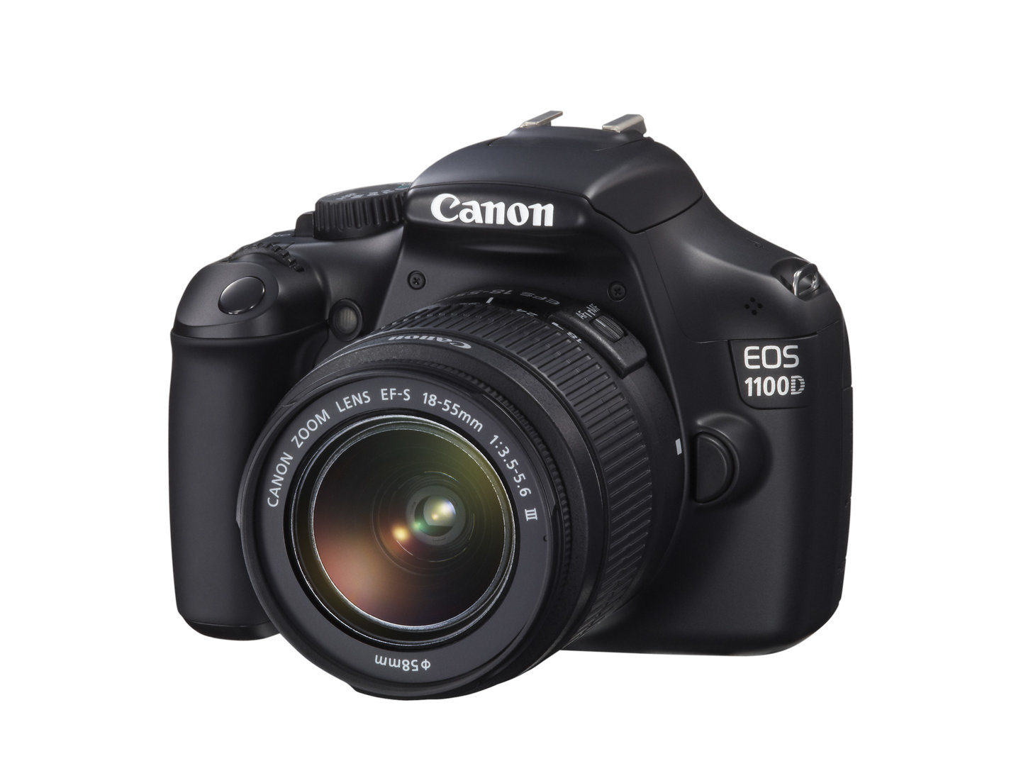 Canon EOS 1100D mit EF-S 18-55 mm III