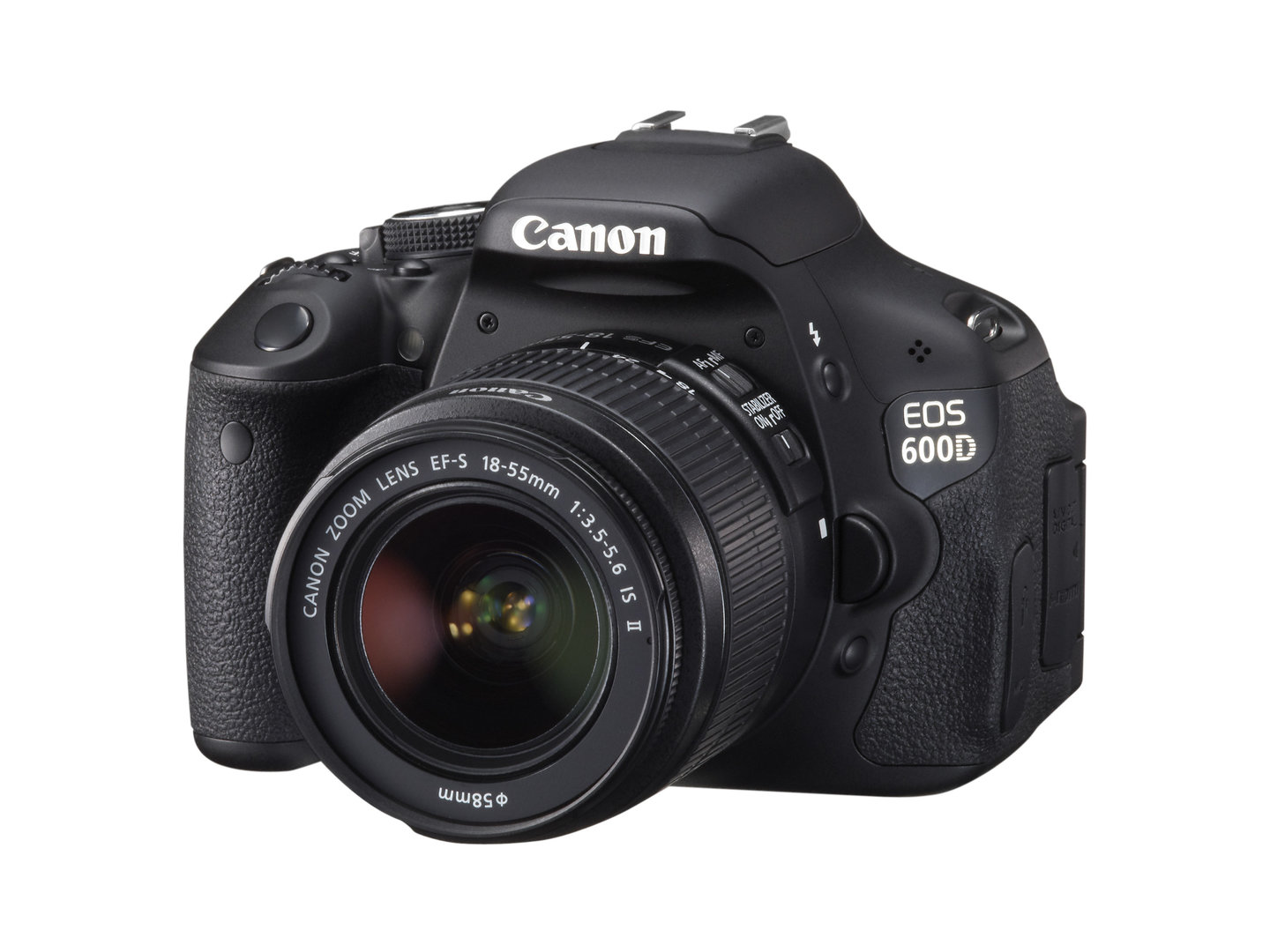 Canon EOS 600D mit EF-S 18-55 mm IS II