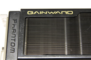 GeForce GTX 580 Phantom Schriftzug