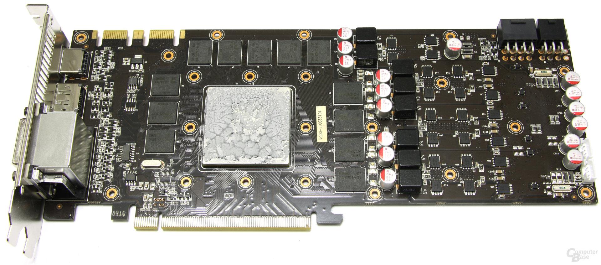 GeForce GTX 580 Phantom ohne Kühler