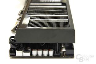 GeForce GTX 580 Phantom von hinten